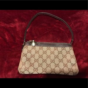 Authentic Gucci Bee Wristlet